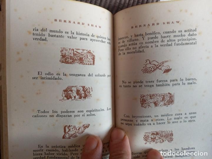 Libros de segunda mano: LAS QUINTAESENCIAS. BERARD SHAW. LA GACELA 1942. - Foto 5 - 242956265