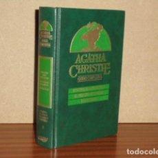 Libros de segunda mano: OBRAS COMPLETAS 9 - PASAJERO PARA FRANCFORT - EL PUDDING DE NAVIDAD - LOS RELOJES - CHRISTIE, AGATHA. Lote 242802950