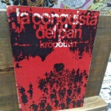 Livres d'occasion: LA CONQUISTA DEL PAN. KROPOTKIN. RÍO NUEVO. 1963. Lote 243136880