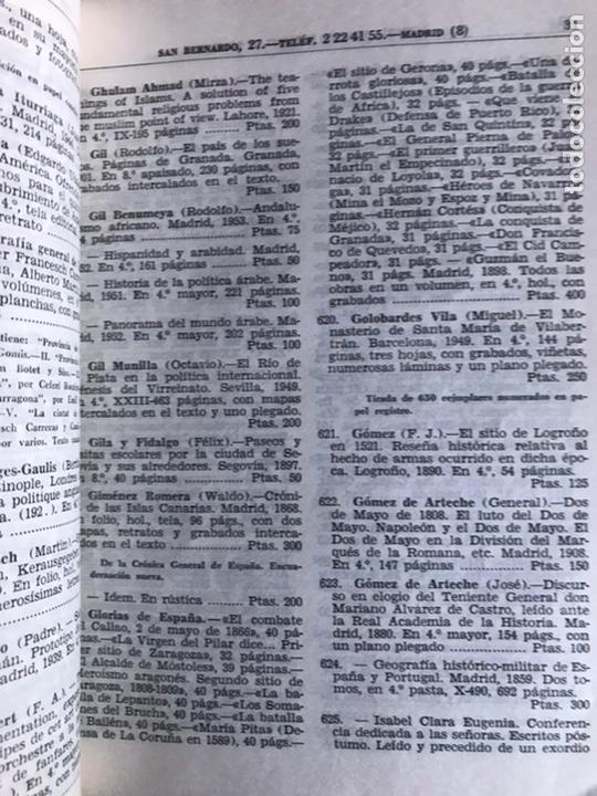 Libros de segunda mano: Catálogo de libros antiguos y modernos - Foto 2 - 243170130
