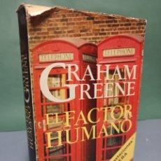 Libros de segunda mano: EL FACTOR HUMANO GRAHAM GREENE EDITORIAL ARGOS VERGARA, S. A. PRIMERA EDICIÓN 1979. Lote 243174440