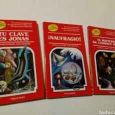 Libros de segunda mano: LOTE 3 LIBROS: ELIGE TU PROPIA AVENTURA (NUMS. 3, 11 Y 16) - ED. TIMUN MAS, 1984 -. Lote 243232810