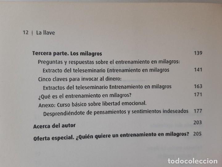 Libros de segunda mano: LA LLAVE EL SECRETO PERDIDO PARA ATRAER TODO LO QUE DESEAS JOE VITALE GRANICA 2008 - Foto 12 - 243304240