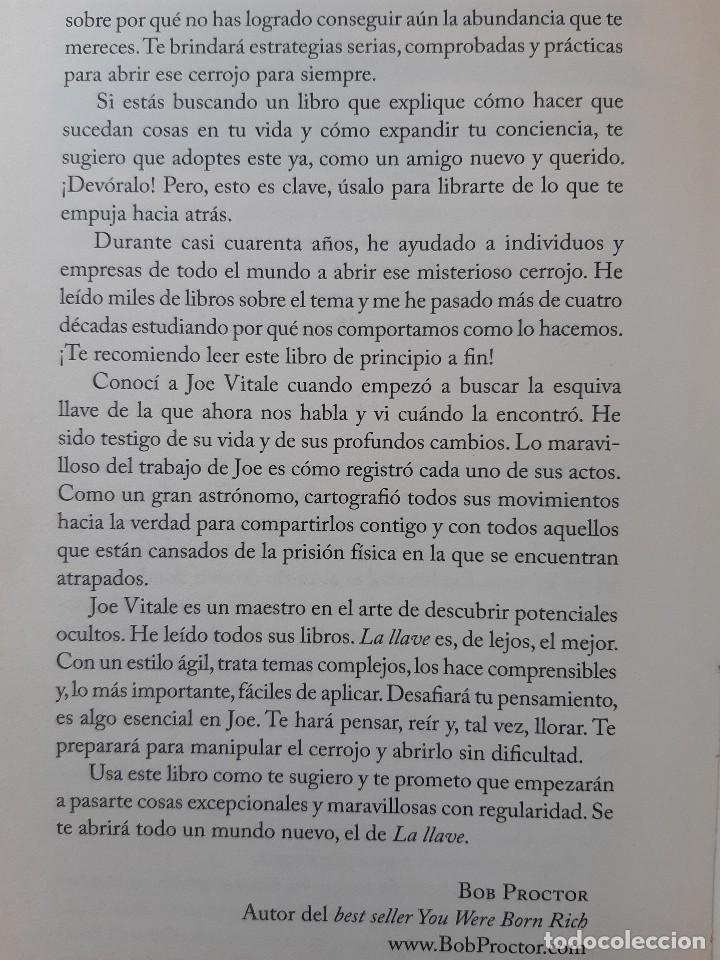 Libros de segunda mano: LA LLAVE EL SECRETO PERDIDO PARA ATRAER TODO LO QUE DESEAS JOE VITALE GRANICA 2008 - Foto 14 - 243304240