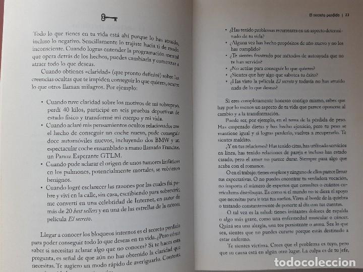 Libros de segunda mano: LA LLAVE EL SECRETO PERDIDO PARA ATRAER TODO LO QUE DESEAS JOE VITALE GRANICA 2008 - Foto 16 - 243304240