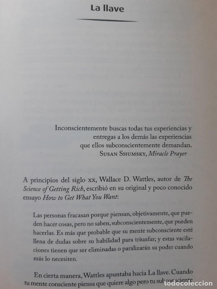 Libros de segunda mano: LA LLAVE EL SECRETO PERDIDO PARA ATRAER TODO LO QUE DESEAS JOE VITALE GRANICA 2008 - Foto 17 - 243304240