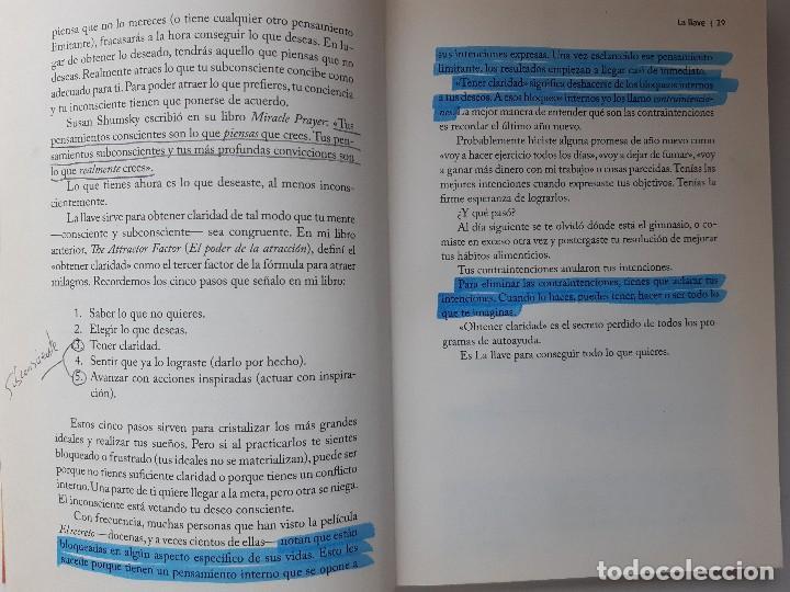 Libros de segunda mano: LA LLAVE EL SECRETO PERDIDO PARA ATRAER TODO LO QUE DESEAS JOE VITALE GRANICA 2008 - Foto 18 - 243304240