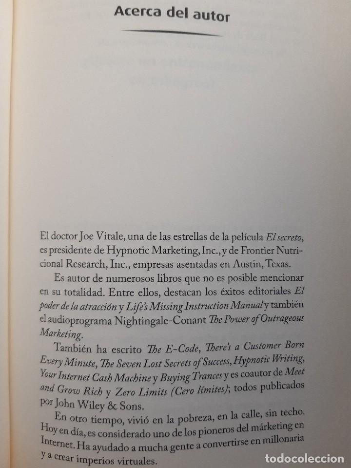 Libros de segunda mano: LA LLAVE EL SECRETO PERDIDO PARA ATRAER TODO LO QUE DESEAS JOE VITALE GRANICA 2008 - Foto 42 - 243304240