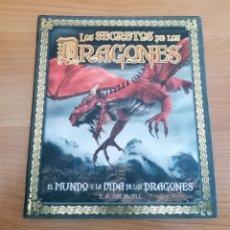 Libros de segunda mano: LOS SECRETOS DE LOS DRAGONES. S. A. CALDWELL. EDITORIAL LAROUSSE. NUEVO. GRAN FORMATO. 2012. Lote 243415940