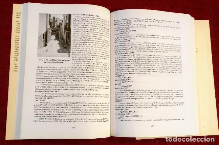 Libros de segunda mano: EL TERME DE SITGES I LA SEVA RODALIA - ELS SEUS NOMS DE LLOC - IGNASI Mª MUNTANER - DEDICADO - Foto 3 - 243440470