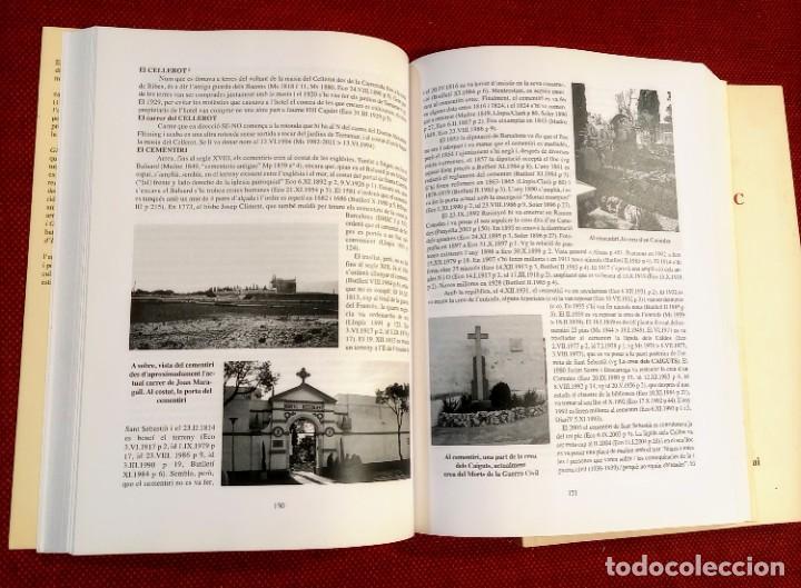 Libros de segunda mano: EL TERME DE SITGES I LA SEVA RODALIA - ELS SEUS NOMS DE LLOC - IGNASI Mª MUNTANER - DEDICADO - Foto 7 - 243440470