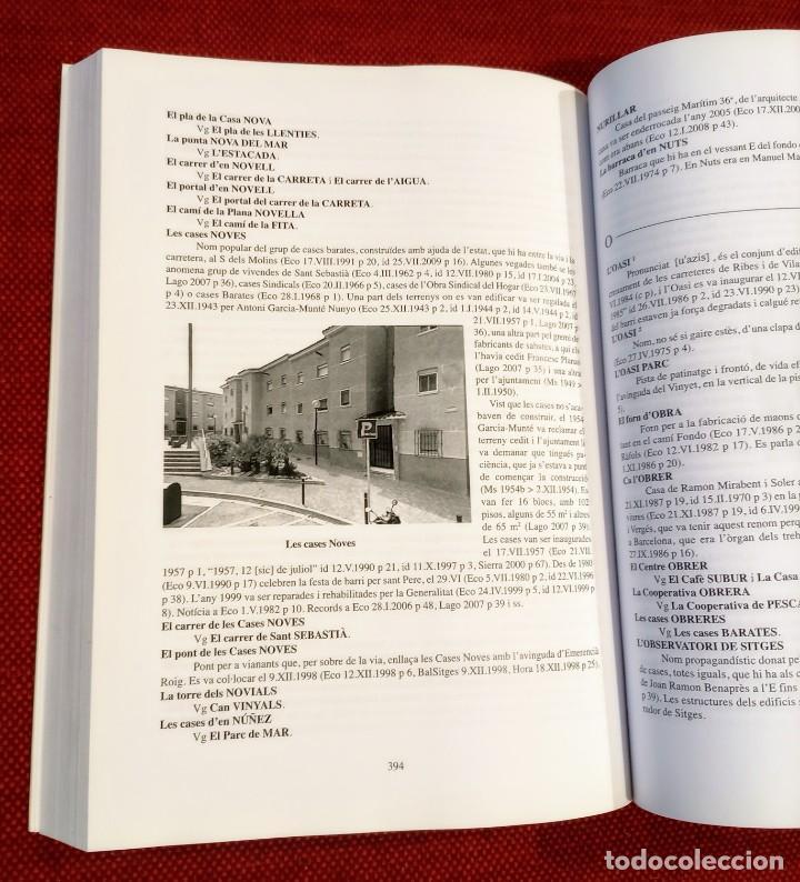 Libros de segunda mano: EL TERME DE SITGES I LA SEVA RODALIA - ELS SEUS NOMS DE LLOC - IGNASI Mª MUNTANER - DEDICADO - Foto 8 - 243440470