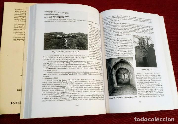 Libros de segunda mano: EL TERME DE SITGES I LA SEVA RODALIA - ELS SEUS NOMS DE LLOC - IGNASI Mª MUNTANER - DEDICADO - Foto 10 - 243440470