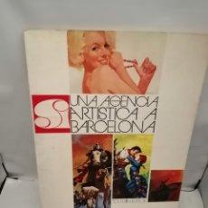 Livros em segunda mão: S.I.: UNA AGÉNCIA ARTÍSTICA A BARCELONA. Lote 243363435