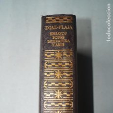 Libros de segunda mano: ENSAYOS SOBRE LITERATURA Y ARTE. GUILLERMO DIAZ-PLAYA. Lote 243578650