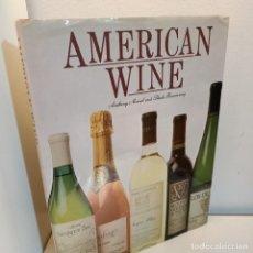 Libros de segunda mano: AMERICAN WINE, ANTHONY MEISEL-SHEILA ROSENZWEIG, ENOLOGIA / ENOLOGY, QED PUBLISHING, 1983. Lote 243610245