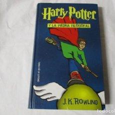 Libri di seconda mano: HARRY POTTER Y LA PIEDRA FILOSOFAL J.K. ROWLING. Lote 243680000