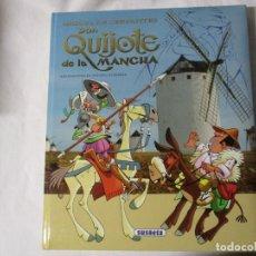 Libros de segunda mano: DON QUIJOTE DE LA MANCHA ILUSTRADO POR ANTONIO ALBARRÁN SUSAETA GRAN FORMATO. Lote 243680905