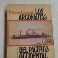 Livros em segunda mão: LOS ARGONAUTAS DEL PACIFICO OCCIDENTAL. BRONISLAW MALINOWSKI. PENINSULA 1973. 1 ED.. Lote 243683750