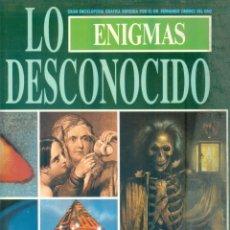 Libros de segunda mano: NUMULITE * ENIGMAS LO DESCONOCIDO GRAN ENCICLOPEDIA GRAFICA FERNANDO JIMENEZ VOL III T12. Lote 243703020