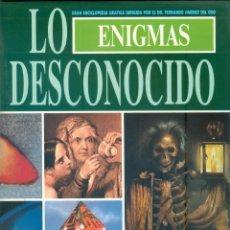 Libros de segunda mano: NUMULITE * ENIGMAS LO DESCONOCIDO GRAN ENCICLOPEDIA GRAFICA FERNANDO JIMENEZ VOL IV T12. Lote 243744710