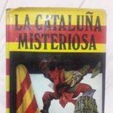 Libros de segunda mano: LA CATALUÑA MISTERIOSA / D'ARBÓ / EDI. PETRONIO / 1ª EDICIÓN 1977 / AMARILLEO EN PÁGINAS. Lote 243780340