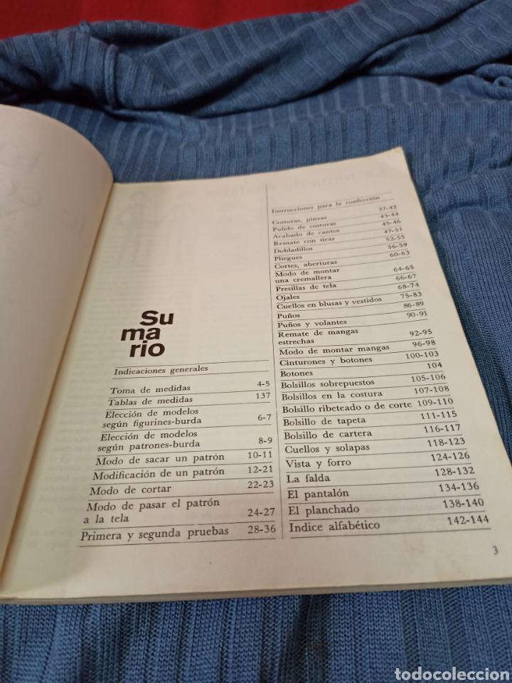 Libros de segunda mano: Muy interesante libro Burda El placer de coser .En español. - Foto 2 - 243786945