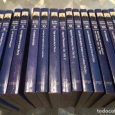 Libros de segunda mano: SUPERLOTE DE 15 LIBROS DE JULIO VERNE EDICIONES ORBIS. Lote 243793940