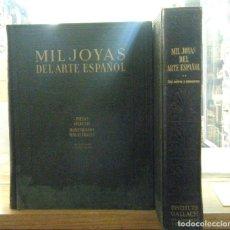 Libros de segunda mano: MIL JOYAS DEL ARTE ESPAÑOL (DOS TOMOS). A-ART-3625. Lote 243824900