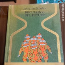 Libros de segunda mano: RECUERDOS DEL FUTURO, ERICH VON DANIKEN. Lote 243826730