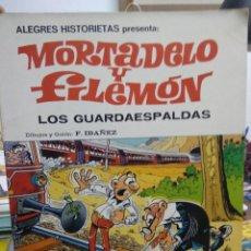 Libros de segunda mano: MORTADELO Y FILEMÓN LOS GUARDAESPALDAS. 1981. CO-574. Lote 243852175