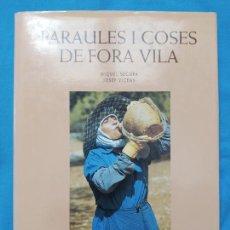 Libros de segunda mano: PARAULES I COSES DE FORA VILA - MIQUEL SEGURA I JOSEP VICENS. Lote 243902220