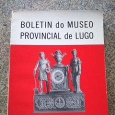 Libros de segunda mano: BOLETIN DO MUSEO PROVINCIAL DE LUGO -- TOMO IV -- 1988/89 --. Lote 243904155