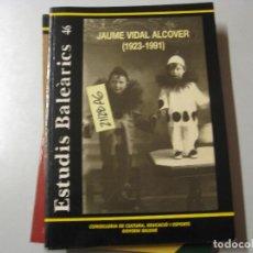 Libros de segunda mano: INSTITUT D´ESTUDIS BALEARICS 46 REVISTA DE CIÈNCIA CONSELLERIA DE CULTURA, EDUCACIO I ESPO. Lote 243911790