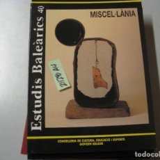 Libros de segunda mano: INSTITUT D´ESTUDIS BALEARICS 40 REVISTA DE CIÈNCIA CONSELLERIA DE CULTURA, EDUCACIO I ESPO. Lote 243911945