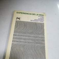 Libros de segunda mano: EXPERIENCIA DE LA VIDA: AZORIN, LAIN, MARÍAS, ARANGUREN, MENÉNDEZ PIDAL. 1966. ALIANZA EDITORIAL. Lote 243912050