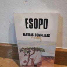 Libros de segunda mano: ESOPO FÁBULAS COMPLETAS. Lote 243912400