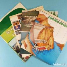 Libros de segunda mano: LOTE 3 LIBROS UNESA SOBRE ELECTRICIDAD + ENERGIA NUCLEAR DE REGALO, CENTRALES, MUNDO, ESPAÑA. Lote 243963590