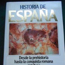 Libros de segunda mano: HISTORIA DE ESPAÑA PLANETA DESDE LA PRHISTORIA HASTA LA CONQUISTA ROMANA SIGLO III A.C. TOMO 1. Lote 243989855