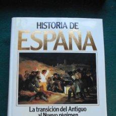 Libros de segunda mano: HISTORIA DE ESPAÑA PLANETA LA TRANSICIÓN DEL ANTIGUO AL NUEVO RÉGIMEN TOMO 9. Lote 243990790