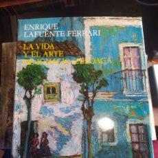 Libros de segunda mano: LA VIDA Y EL ART DE IGNACIO ZULOAGA. Lote 244006945