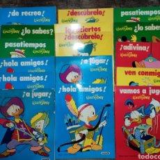 Libros de segunda mano: CUADERNOS INFANTILES PASATIEMPOS WALT DISNEY SUSAETA SIN USO 1975. Lote 244021260