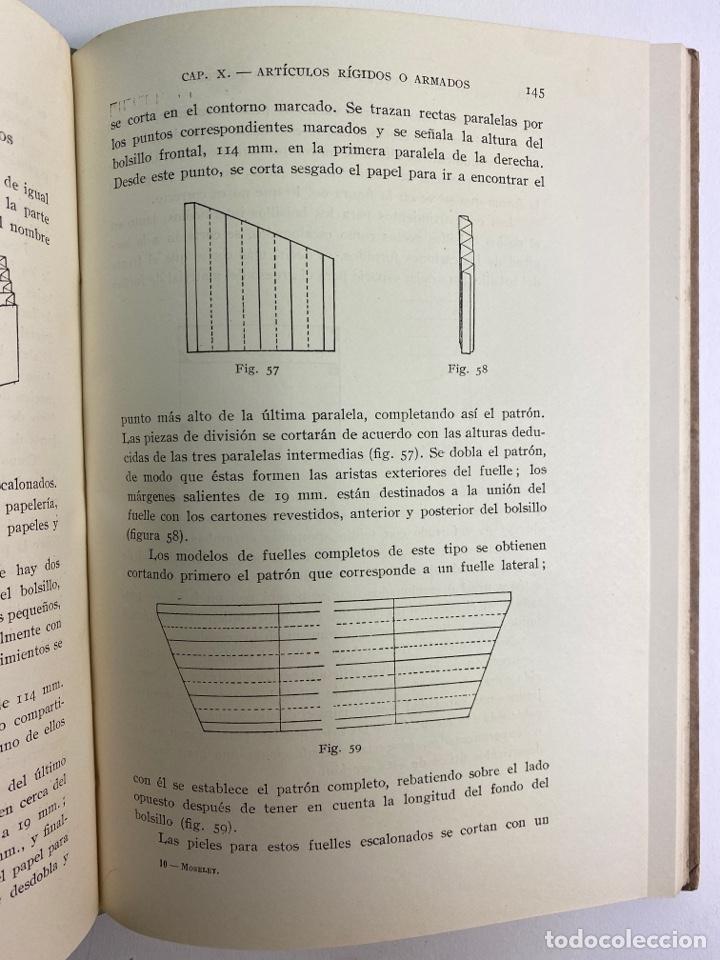 Libros de segunda mano: L-5836. MANUFACTURA DE ARTICULOS DE PIEL. G.C.MOSELEY. ED. GUSTAVO GILI, 1944. - Foto 5 - 244183885