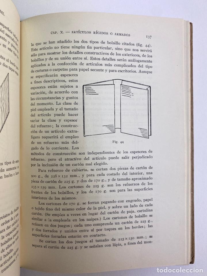 Libros de segunda mano: L-5836. MANUFACTURA DE ARTICULOS DE PIEL. G.C.MOSELEY. ED. GUSTAVO GILI, 1944. - Foto 6 - 244183885