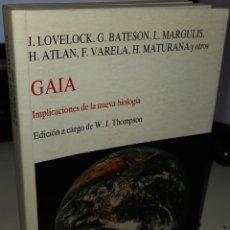 Libros de segunda mano: GAIA IMPLICACIONES DE LA NUEVA BIOLOGÍA - AA.VV. Lote 244302215