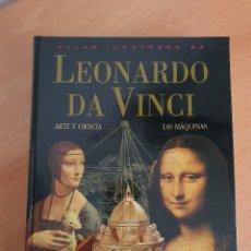 Libros de segunda mano: ATLAS ILUSTRADO DE LEONARDO DA VINCI (SUSAETA, 2003). Lote 244421230