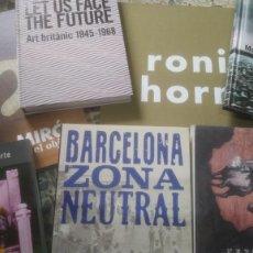 Libros de segunda mano: LOTE 7 LIBROS ARTE: MIRÓ, GUGGENHEIM, QUIJOTE, RONI HORN, ETC OPORTUNIDAD LIQUIDACIÓN. Lote 244424255