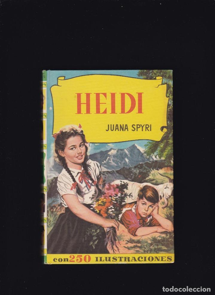 HEIDI - JUANA SPYRI - EDITORIAL BRUGUERA 1963 / 5ª EDICION (Libros de Segunda Mano - Literatura Infantil y Juvenil - Otros)