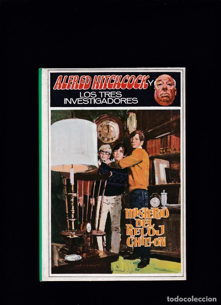 ALFRED HITCHCOCK Y LOS TRES INVESTIGADORES - Nº 9 - MISTERIO DEL RELOJ CHILLON - ED. MOLINO 1986 (Libros de Segunda Mano - Literatura Infantil y Juvenil - Otros)