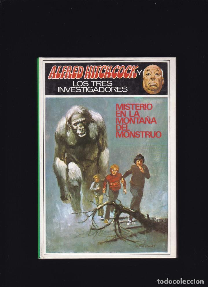 ALFRED HITCHCOCK Y LOS TRES INVESTIGADORES - Nº 20 - MISTERIO EN LA MONTAÑA DEL MONSTRUO (Libros de Segunda Mano - Literatura Infantil y Juvenil - Otros)